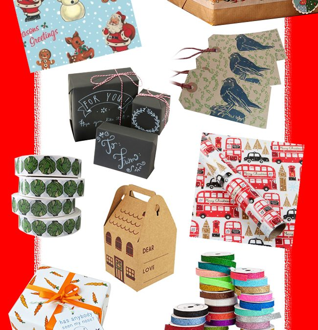 9 Christmas Wrapping Must-Haves