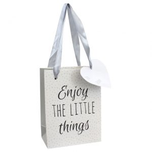 Enjoy the little things gift bag