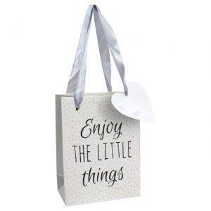 Enjoy the little things gift bag
