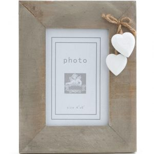Driftwood Heart Photo Frame